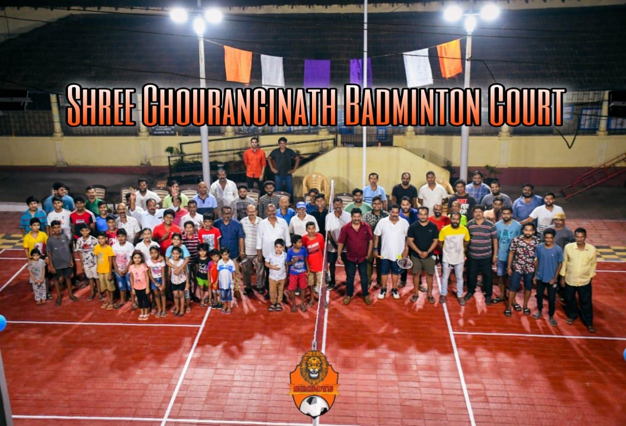 Shree Chauranginath Badminton Court, Arpora Goa.